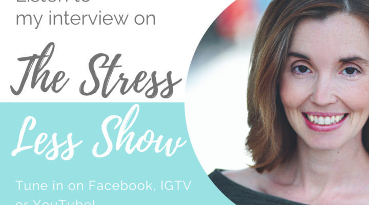 3 Tips for Effectiveness via Doing Less - Erin Owen on The Stress Less Show