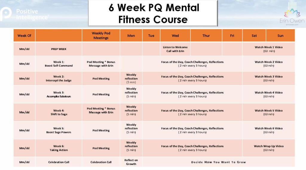 EO PQ schedule template